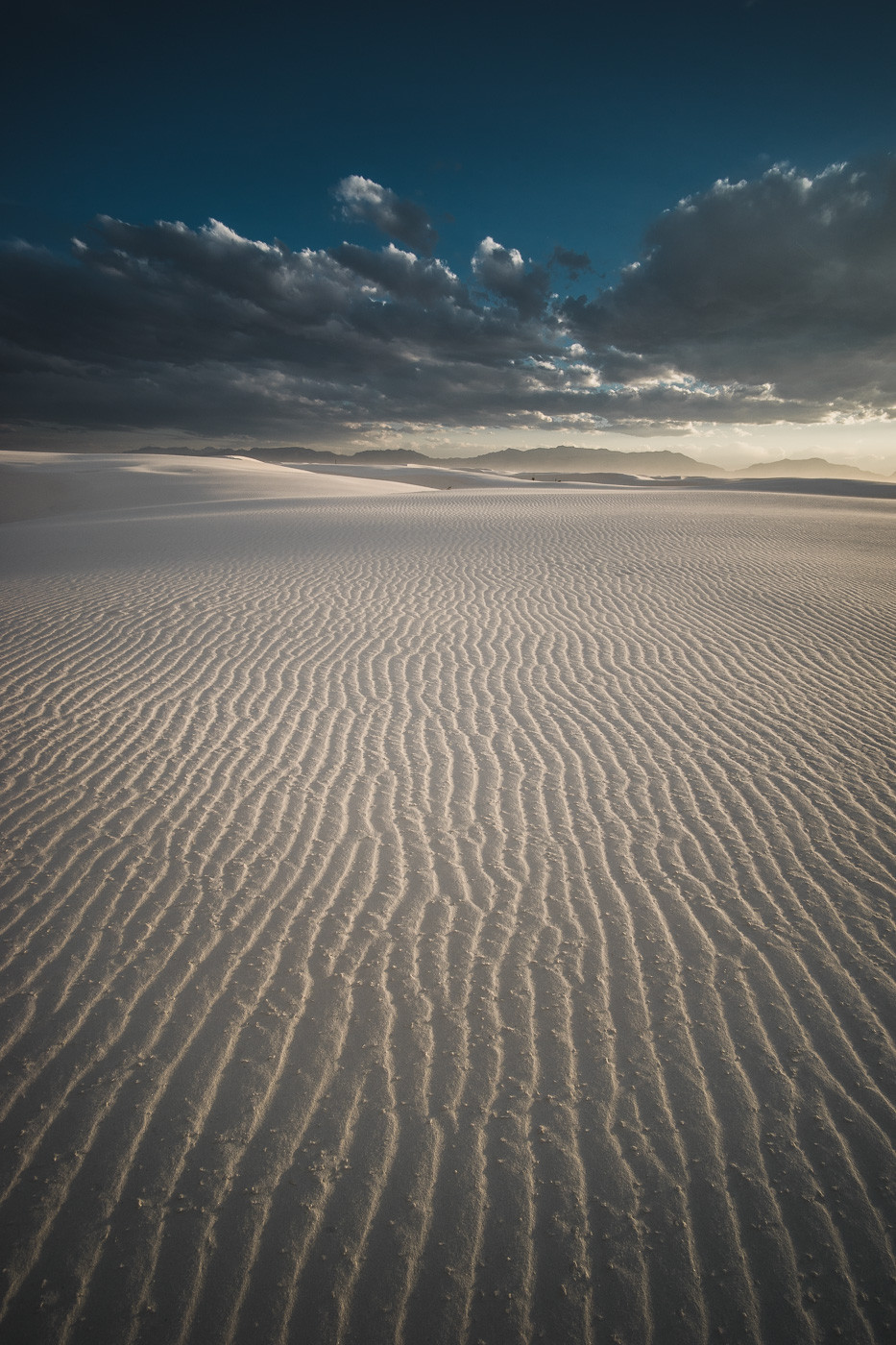 White Sands National Monument, NM. Voigtlander Heliar 15mm/4.5, a7II, f/11, 1/200th, ISO 200, Full Resolution (14MB)