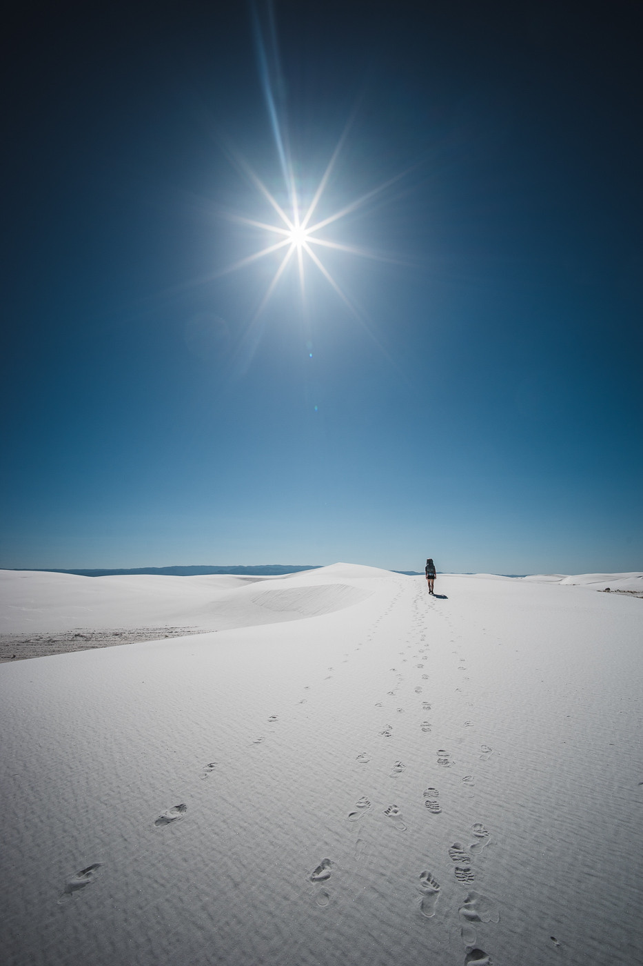 White Sands National Monument, NM. Voigtlander Heliar 15mm/4.5, a7II, f/11, 1/640th, ISO 100, Full Resolution (9.4MB)