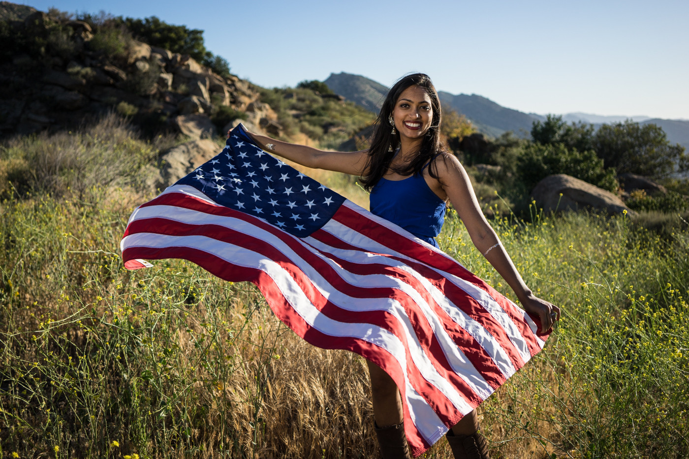 4th-of-july-american-woman-flag-portrait-sunset-vaish-front