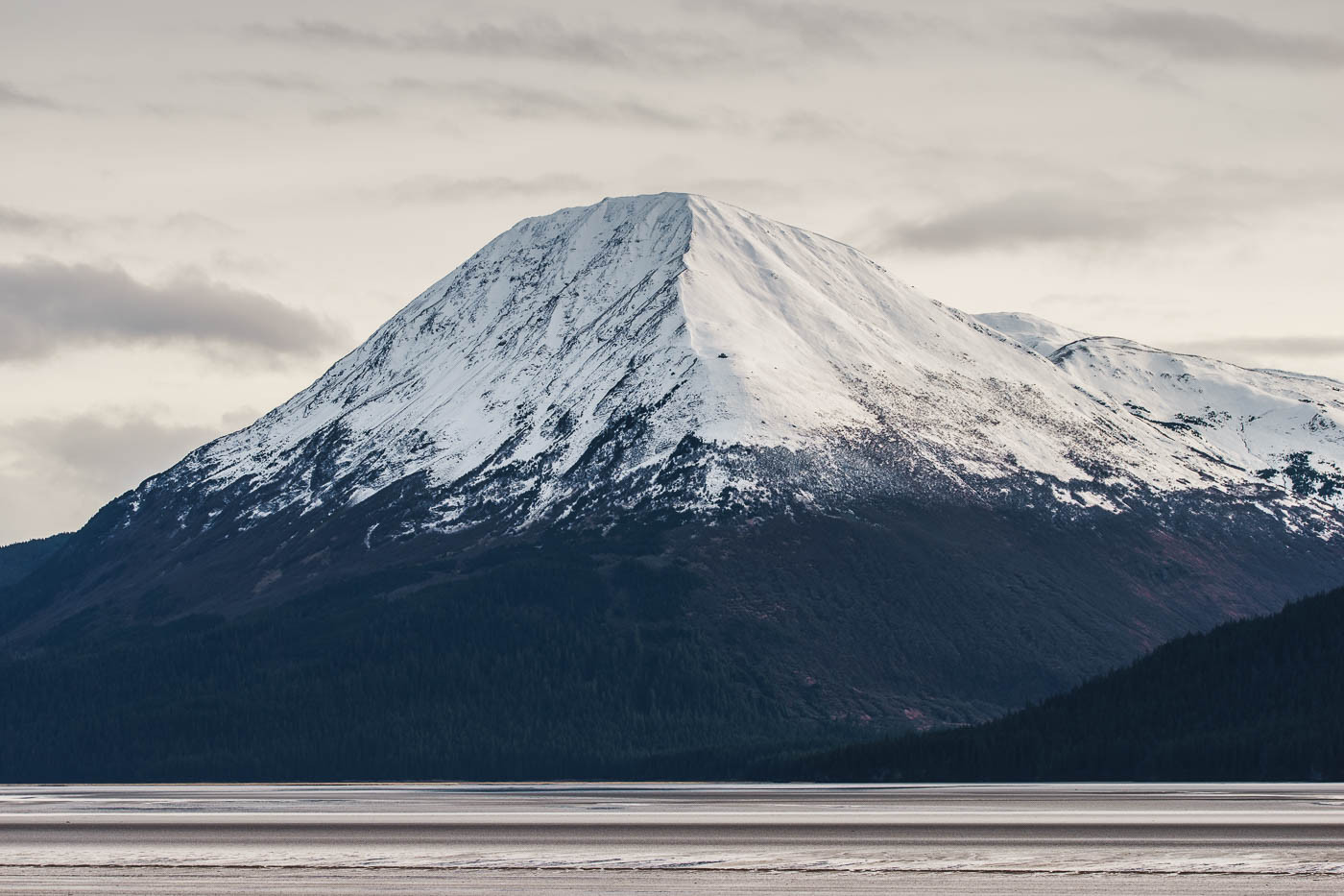 Snow-capped mountain in Alaska with the Tamron 150-600mm f/5-6.3
